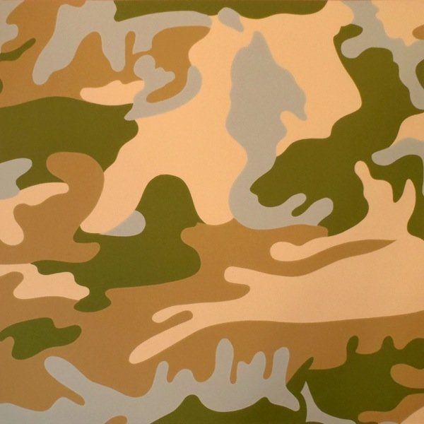 """12: Andy Warhol, """"Camouflage"""" ll.407"""