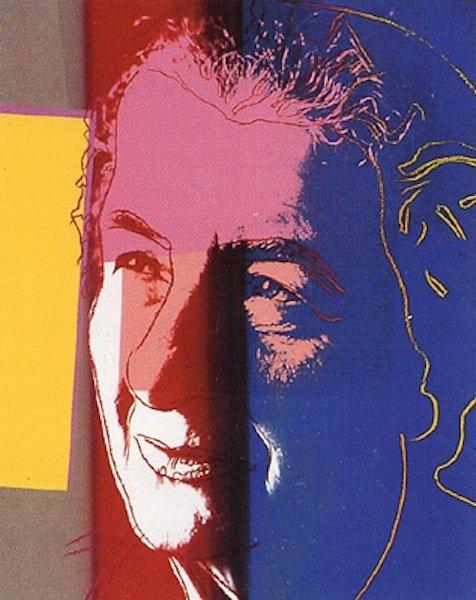 """14: Andy Warhol, """"Golda Meir"""""""