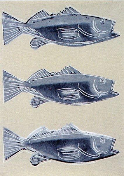 "18: Andy Warhol, ""Triple Fish"""