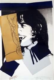 """20: Andy Warhol, """"Mick Jagger"""""""