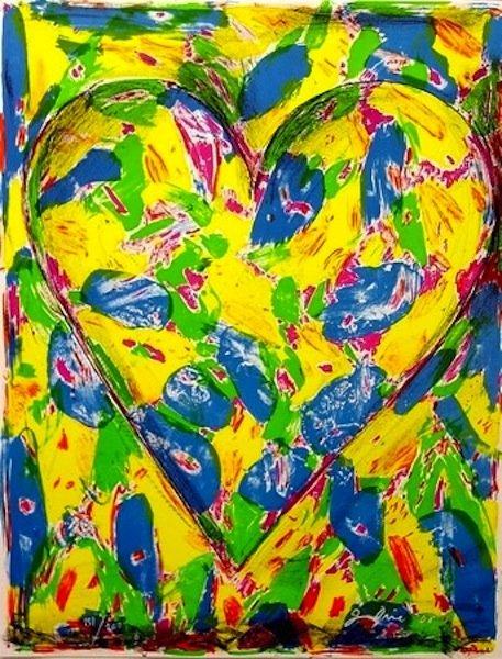 "23: Jim Dine,""The Blue Heart"""
