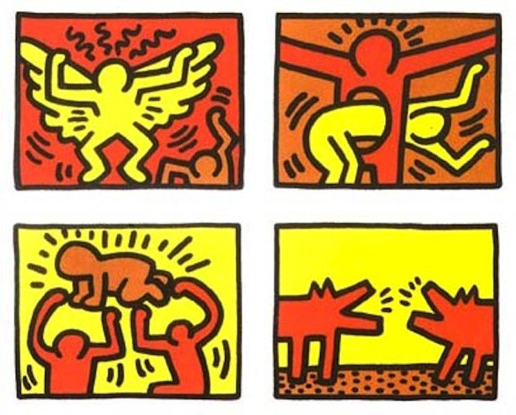 "25: Keith Haring, ""Pop Shop IV Quad"""