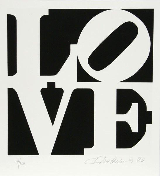 "26: Robert Indiana, ""Book of Love 1"""