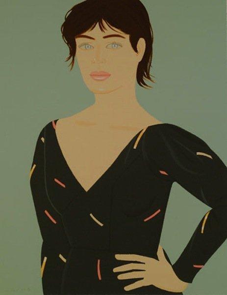 """28: Alex Katz, """"Grey Dress"""""""