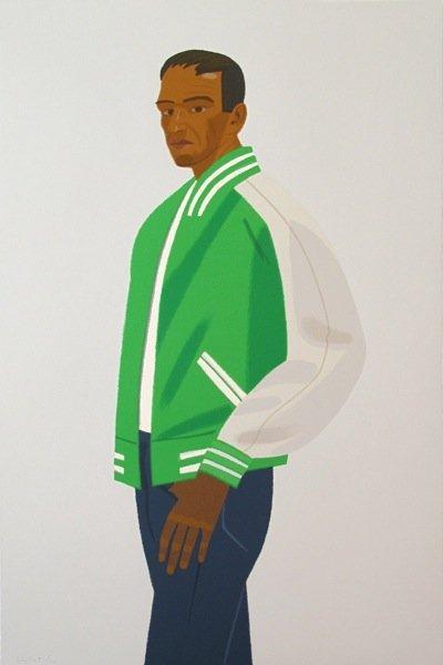 """30: Alex Katz, """"Green Jacket"""""""