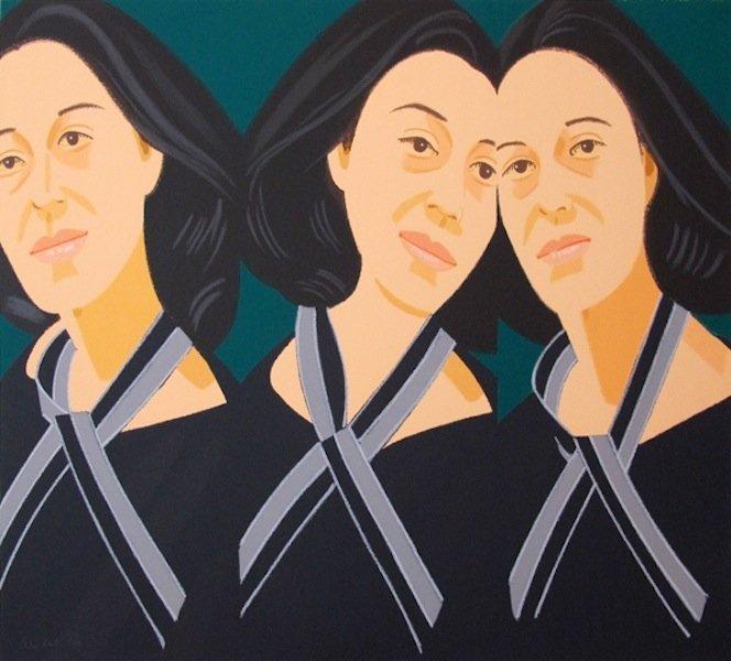 """31: Alex Katz, """"Grey Ribbon"""""""