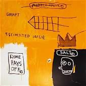 "49: Jean-Michel Basquiat, ""Rome Pays Off"""