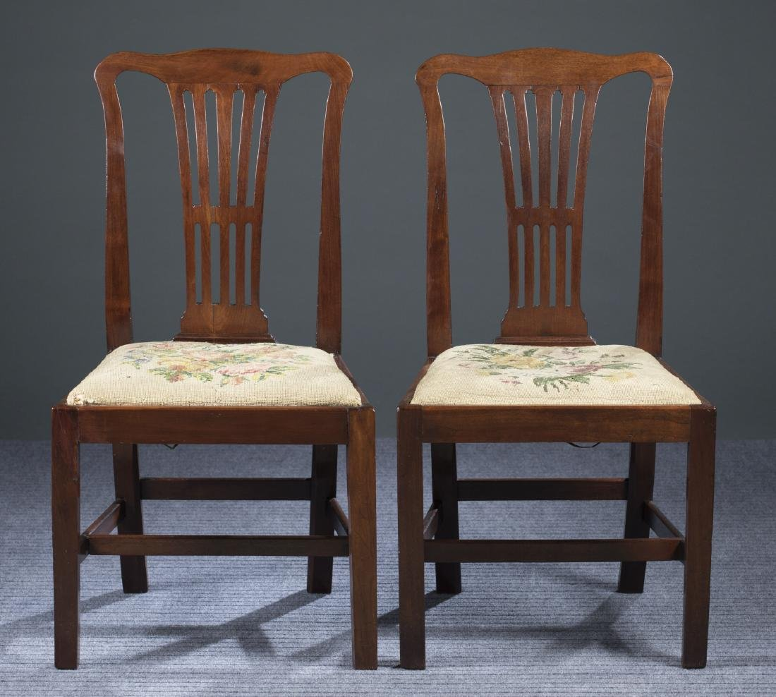 Pair of Virginia Chippendale Chairs, c.1780-1790.
