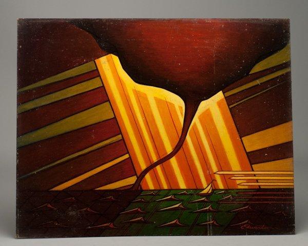 "2: Laurence Christie Edwardson, (1904-1995), ""Gangway"","