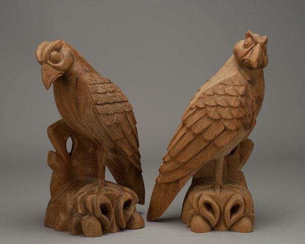 3: Pair of Arthur Court Falcons,