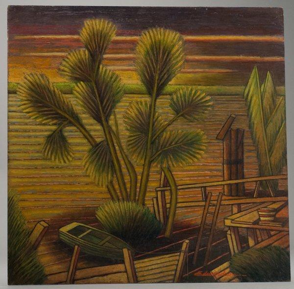 "9: Laurence Christie Edwardson, (1904-1995), ""Along the"