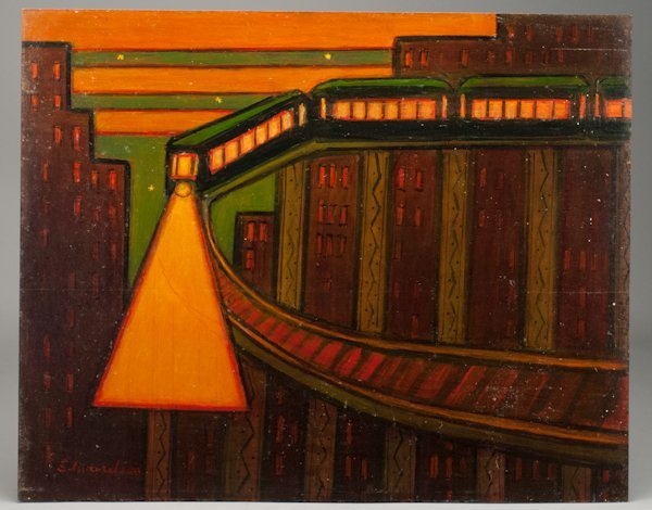 "12: Laurence Christie Edwardson, (1904-1995), ""Night, N"