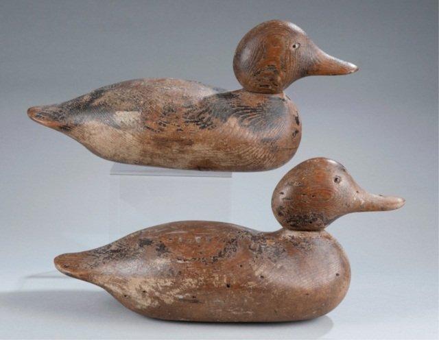2: Pair of Mason Standard Grade Duck Decoys