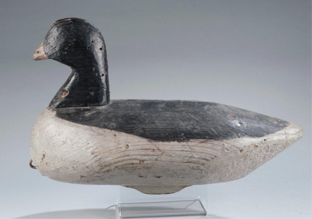 21: Brant Bluebill Duck Decoy