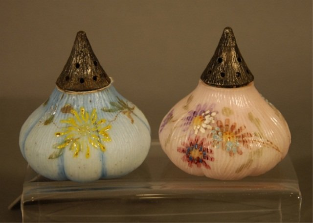 1: Pair of Mt Washington Fig Salt and Pepper Shakers