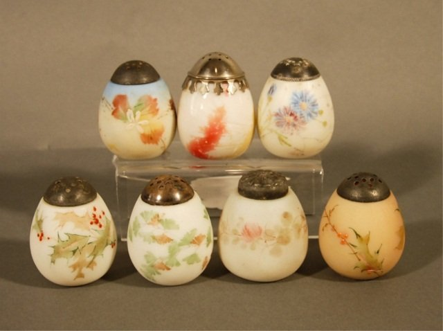 9: Seven Salt and Pepper Shakers,