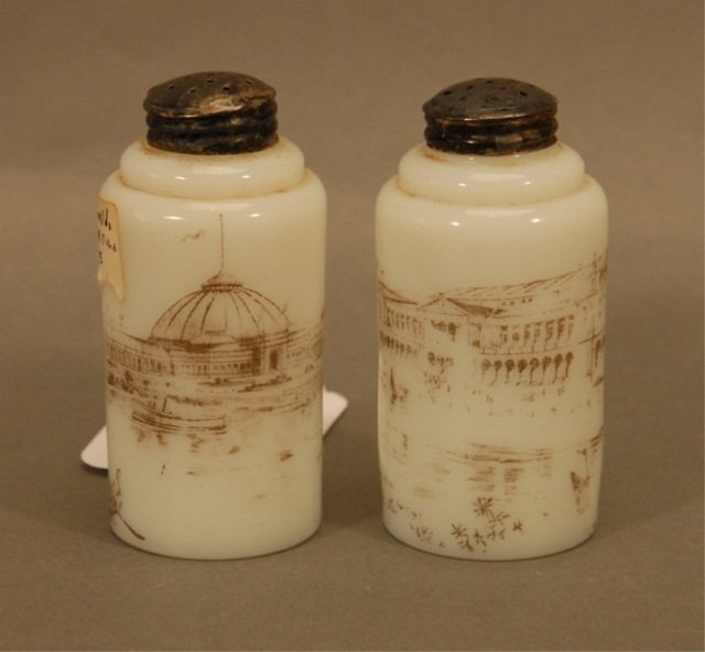 17: A Pair of 1893 World's Fair Shakers,