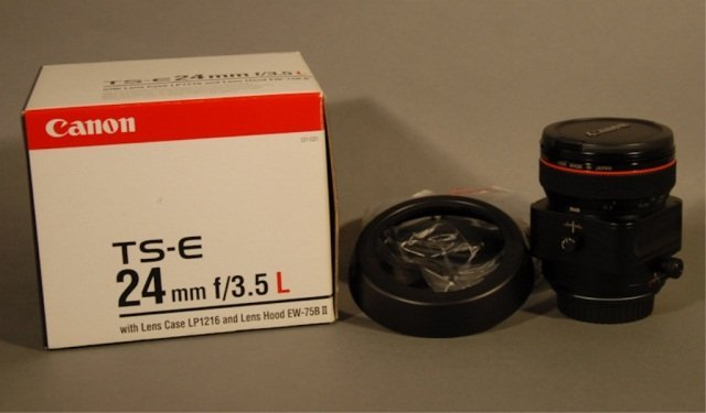 107: Canon TS-E 24 mm F/3.5 L Lens