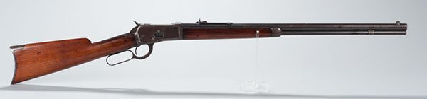 316: Winchester Model 1892 caliber 25-20 rifle with 24-