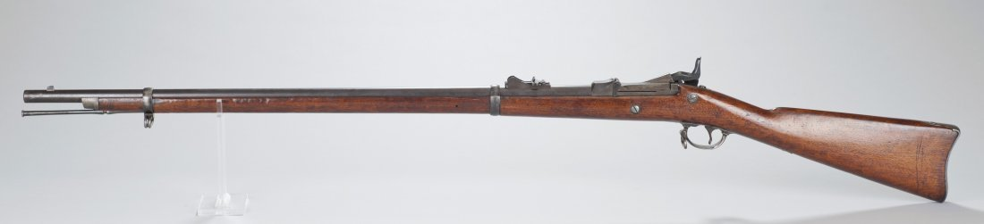 319: US Army Model 1873 45/70 Springfield rifle in fine