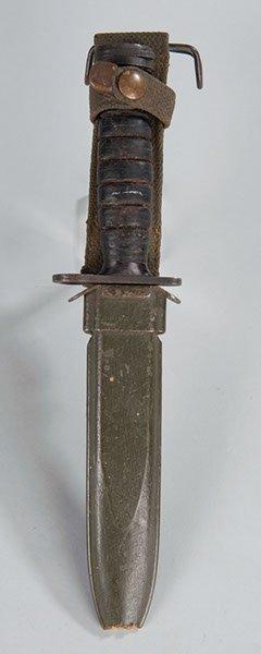 25: World War II US '  M-4'   M-1 Carbine bayonet compl
