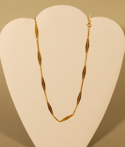 16: A 18K Yellow Gold Necklace