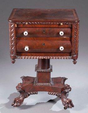 14:  Philadelphia Work Table, Ca. 1830