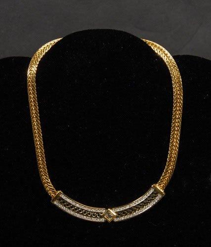 5: Swarovski Crystal Collar Necklace Swarovski Swan to