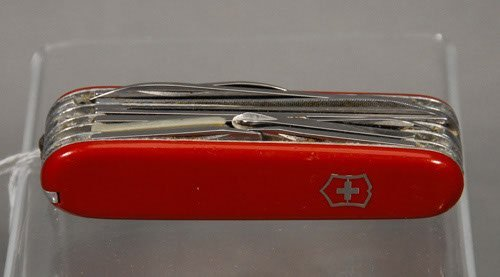 9: Vintage Swiss Army Knife Missing tooth pick tool. 3
