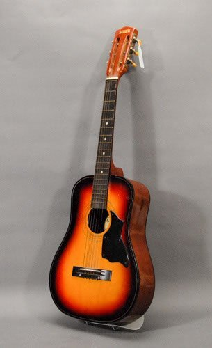 "156: Global Brand Acoustic Guitar Length: 34 3/4"""