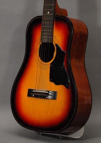 "156: Global Brand Acoustic Guitar Length: 34 3/4"" - 2"