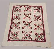 Glenville, York Co. Pennsylvania Appliqued Quilt,