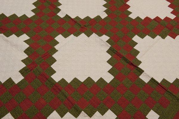 Hermann, Missouri Pieced Quilt, Mid 1800's, - 2