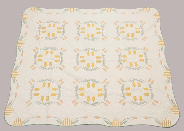 1920's Central Ohio Appliqued Quilt