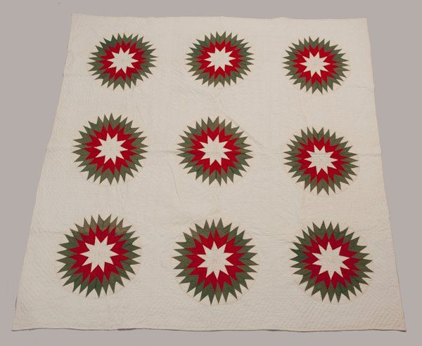 Somerset Co., Pennsylvania Pieced and Appliqued Quilt,