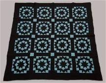 Mercer Co. Pennsylvania Pieced Quilt, Early 1900's,
