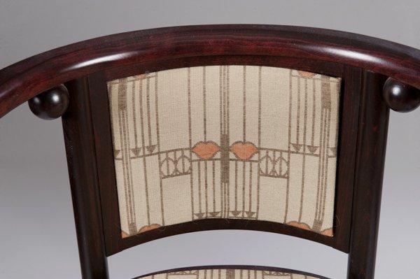 Pair of Hoffmann Fledermaus Chairs made by Wittmann - 3
