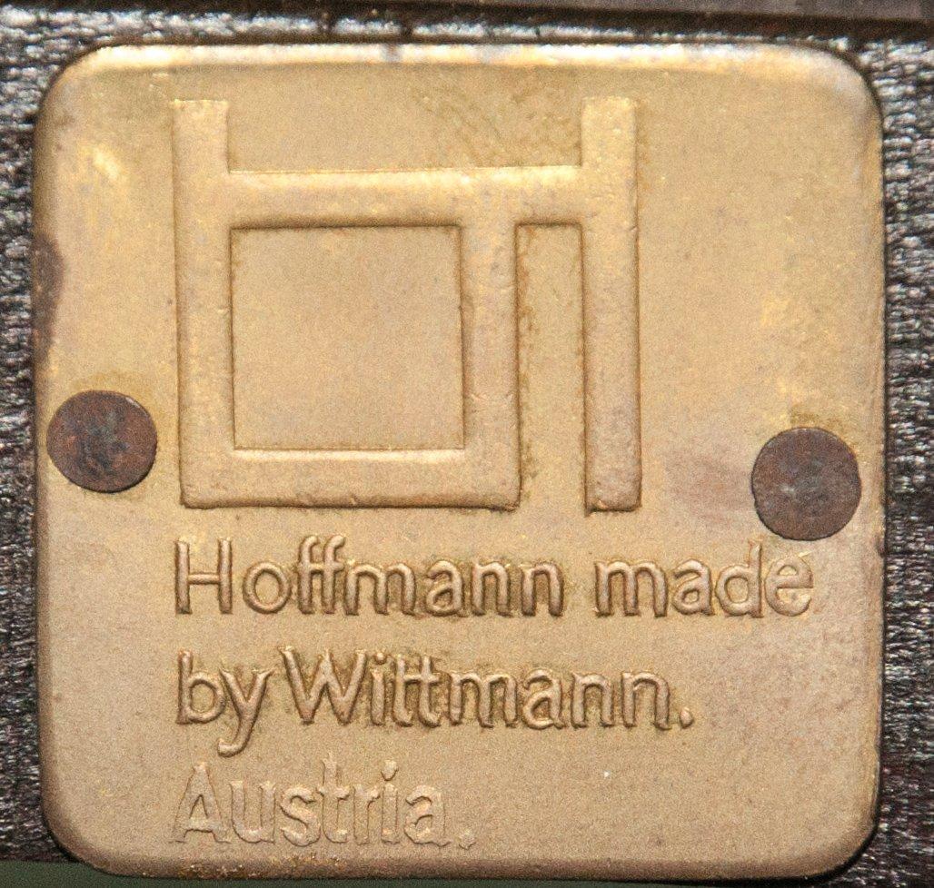 Pair of Hoffmann Fledermaus Chairs made by Wittmann - 5