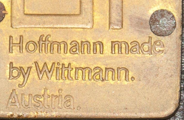Pair of Hoffmann Fledermaus Chairs made by Wittmann - 7