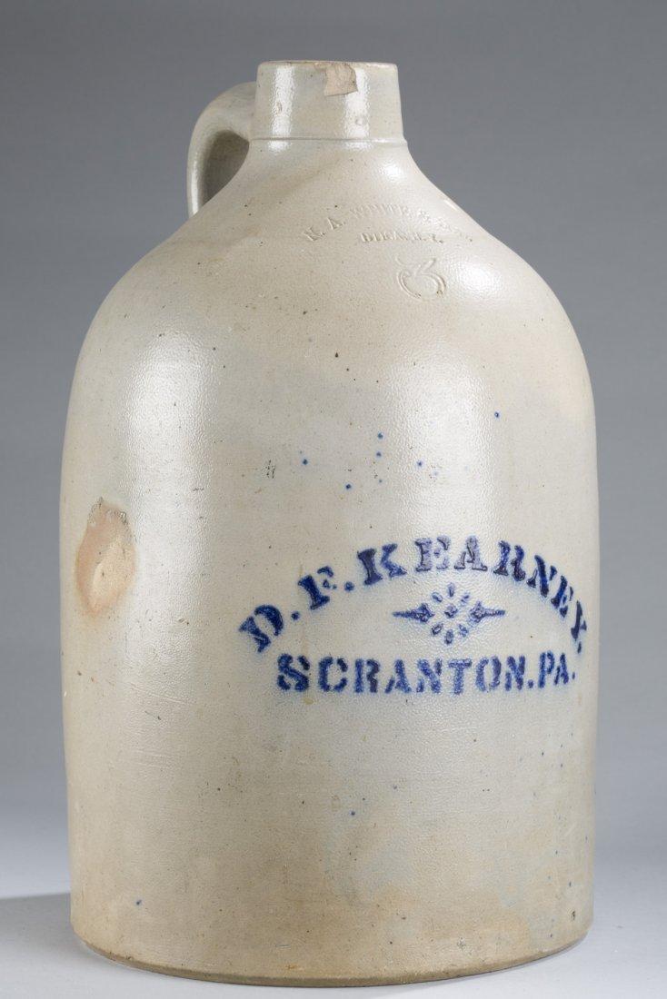 "Three Gallon Jug Marked ""Scranton PA"""