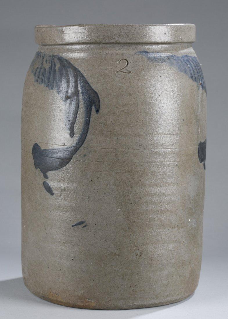Two Gallon Stoneware Crock