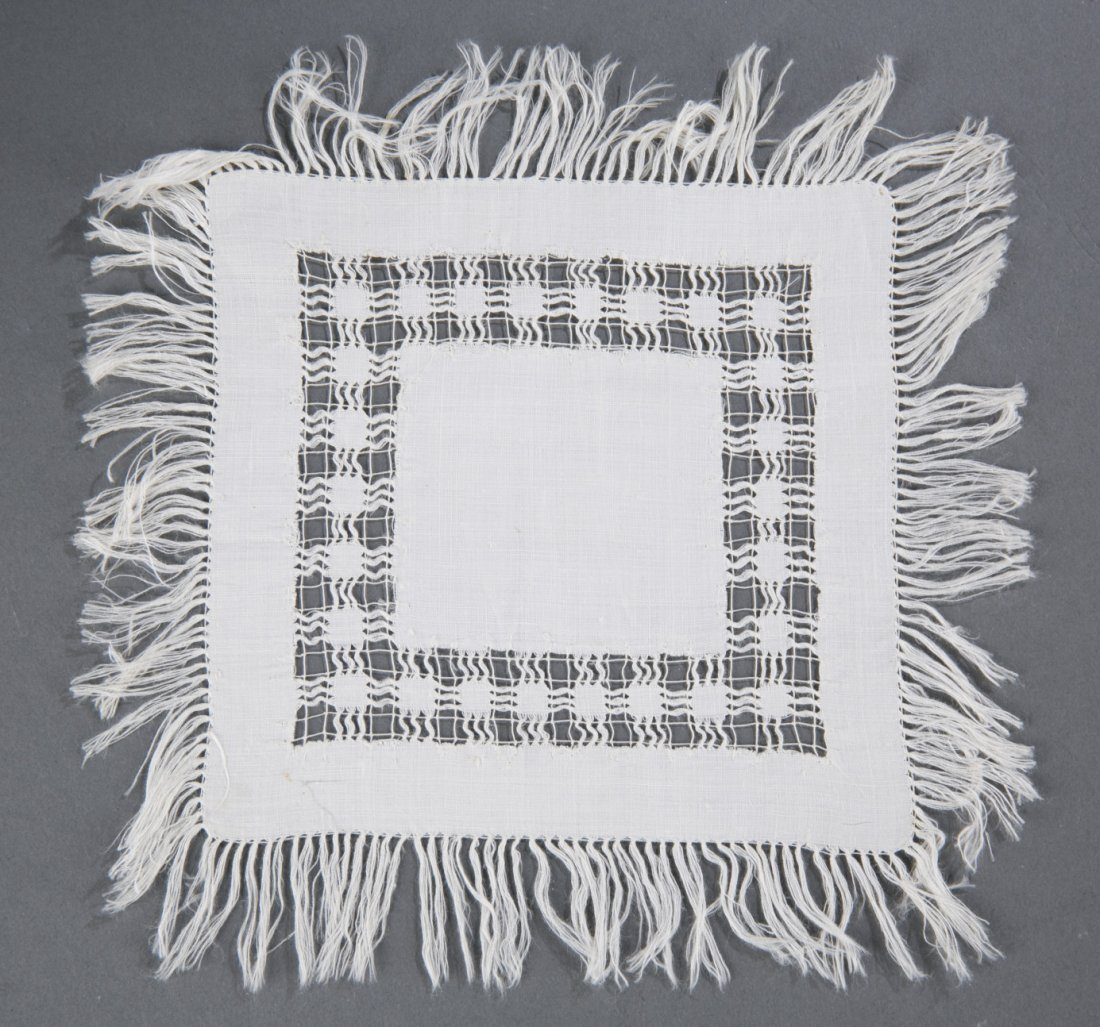 Civil War Confederate Doily with Gen. Tom Rosser Connec