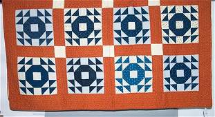 Blair Co., Pennsylvania Pieced QuiltDated 1924 on back