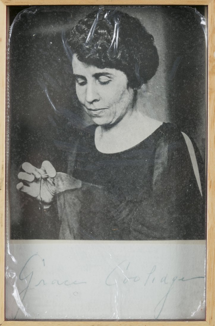 Grace Coolidge Print and Signature