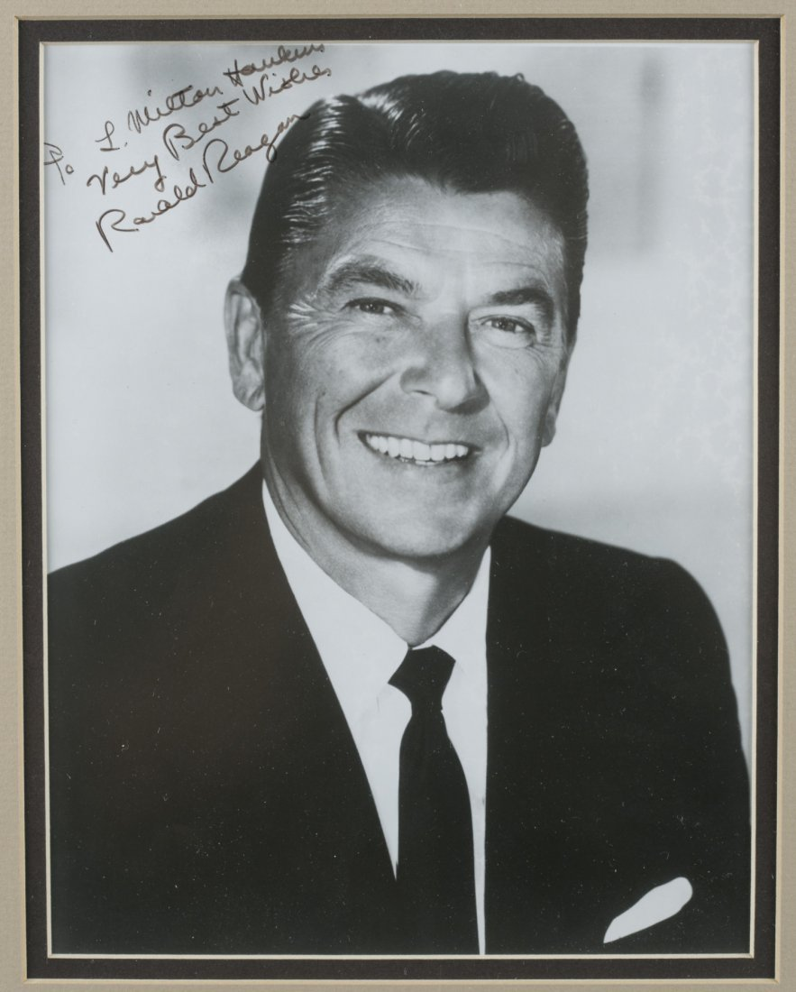 Ronald Reagan Signed Picture - 2
