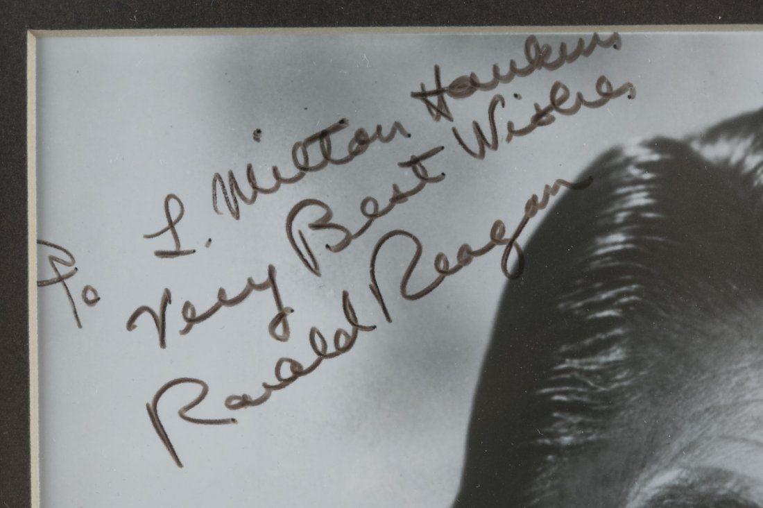 Ronald Reagan Signed Picture - 3