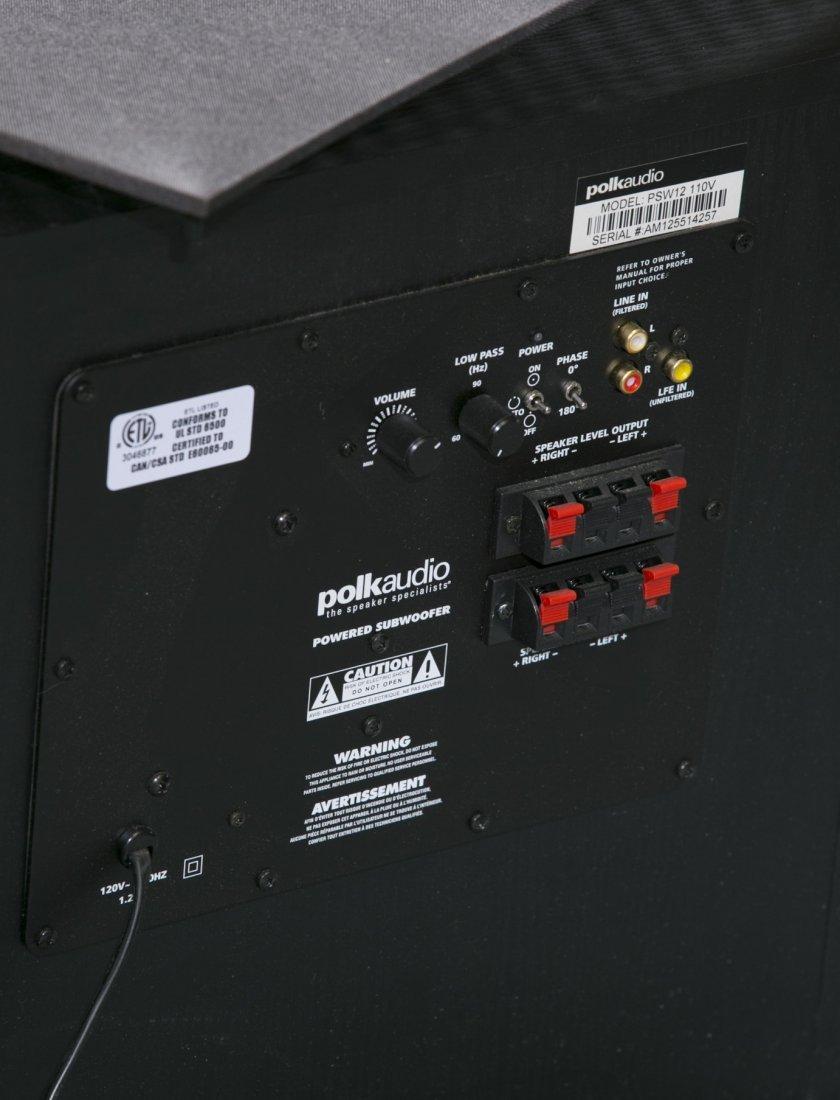 Polk Audio Speaker, Model PSW12 1106 - 4