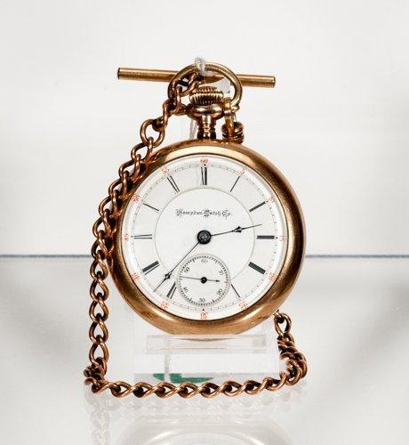 Hampden Watch Company - Perry Model Pocket Watch