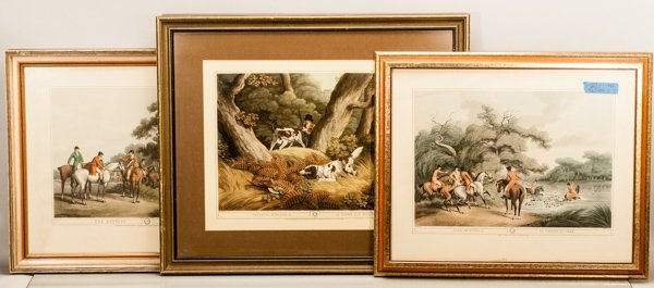 Three (3) Hunt Scenes