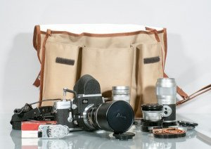 Leica M3 Camera Body, Three Lenses, Viewfinder and